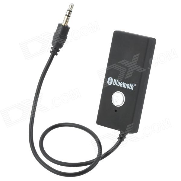 BYL-918 3.55mm Plug Bluetooth V2.1 Audio Receiver Dongle - Black dl link 3 5mm mini bluetooth audio transmitter a2dp stereo transmitter transmite dongle adapter for tv ipod mp3 mp4 pc