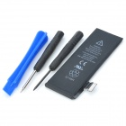 1440mAh Replacement Li-ion Battery Set for iPhone 5 - Black