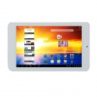 "ICOO ICOU7GT Quad Core Allwinner A31 7.0"" IPS Screen Android 4.1.1 Tablet PC - White + Silver"