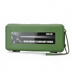 ZY-1314 Anti-Pressing Shock Resistant Plastic Case for LED Flashlight - Army Green