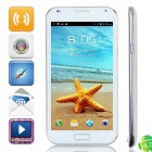"KVD APOLLO ONE K6589 Quad-Core Android 4.2.1 WCDMA Smartphone w/ 5.5"" IPS, Wi-Fi and GPS - White"