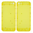 Plastic Replacement Back Case for iPhone 5 - Translucent Yellow