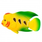 Aquarium Fish Tank Decoration Plastic Lifelike Cichlasoma