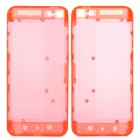 Plastic Replacement Back Case for iPhone 5 - Translucent Red