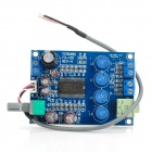 FX138 20W Digital Power Amplifier + Headphone Amplifier Board - Blue