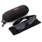 OREKA DY643 Fashion Retro UV400 Protection Sunglasses - Black