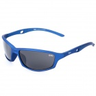 SENLAN 9811 Fashion UV400 Protection Outdoor Sport Sunglasses Goggles - Blue