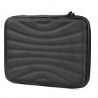 Professional Protective Hard Zipper Carrying Bag w/ Built-in Speaker for   Ipad MINI - Black
