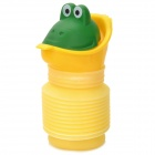 HQS-G101822 Cute Cartoon Car Portable PP Urinal / Toilet for Kids - Yellow + Green + Purple + Orange