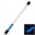 Leijing 10W Trimorphism Tube UV Sterilizing Lamp for Aquarium - Black + Transparent