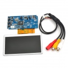 "DIY 2-Channel Video Input 4.5"" TFT-LCD Display Module - Black + Blue + Silver White"