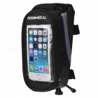 "ROSWHEEL 4.2"" Touch Screen Bag w/ 3.5mm Earphone Jack - Black + Blue"