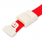 Outdoor Camping Buckle Head Elastic Belt Tourniquet for Medical - Red