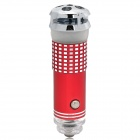 JO-622 Mini Oxygen Bar Car Air Freshener w/ 8mL Perfume - Red (12V)