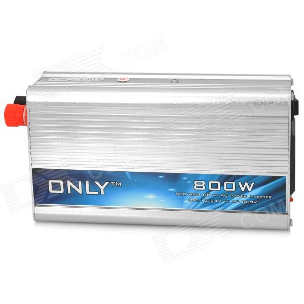 ONLY WP8013 800W DC 12V to AC 220V Power Inverter - Silver