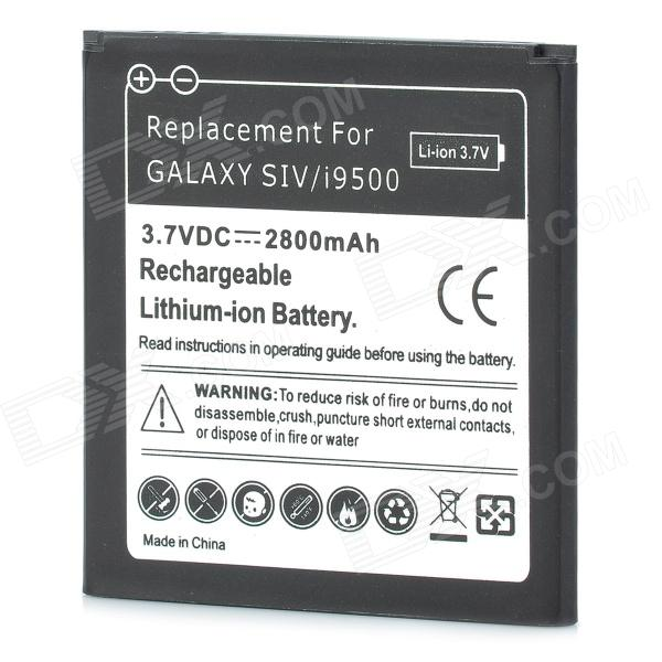 p  v mah replacement battery for samsung galaxy s i black