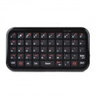 Mini 49-Key Bluetooth V3.0 Keyboard for iPhone / iPad - Black