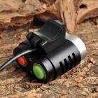 FANDYFIRE D99 1000lm 5-Mode White Bicycle Light w/ 2 x Cree XM-L T6 - Black (4 x 18650)