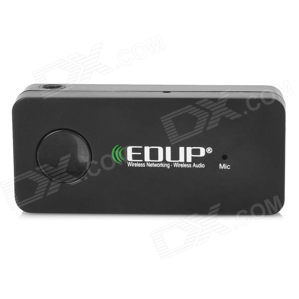 EDUP EP-B3503 Car 2.4GHz Bluetooth V3.0 Handsfree Stereo Music Receiver - Black