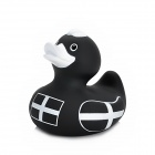 Funny Floating Duck Bath Toy for Baby - Black + White