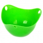 Silicone Egg Poach Pod Poacher - Green