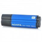 ADATA S102 Pro USB 3.0 USB Flash Drive - Deep Blue + Black (64GB)