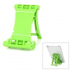 Super Light Folding Plastic Desktop Stand for Iphone 5 / Ipad + More - Green