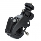 Bike Bicycle Motorcycle Clamp Mount Base Holder for DV / Digital Camera - Black