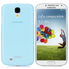 Remax BG_B Protective Plastic Back Case Cover for Samsung Galaxy S4 i9500 - Translucent Blue