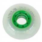 zq337 Outdoor Sports 76mm-Diameter Rollerskate Wheel - Green