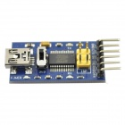 FT232RL USB to Serial 232 TTL Adapter Module for Funduino - Blue (3.3~5V)