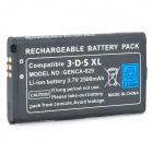 "Replacement 3.7V ""2500mAh"" Li-ion Battery for Nintendo 3DS XL Console - Black"