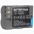 Nikon EN-EL3E Compatible 7.4V 1400mAh Replacement Li-Ion Battery Pack for Nikon D200/D300/D80