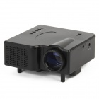 GP-1 18W DLP LED Multimedia Projector w/ Remote Controller / VGA - Black