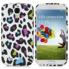 Protective Cute Spots Pattern Back Case for Samsung Galaxy S4 i9500 - Multicolored