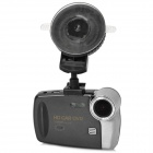 "S6000 2.7"" TFT 1080p FHD 5.0 MP CMOS 140' Wide Angle Car DVR w/ 4GB / HDMI - Black (DC 12~24V)"