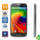 "N9500 Android 4.2 WCDMA Quad-Core Phone w/ 5.0"" Capacitive Screen, Wi-Fi, GPS and Dual-SIM - Black"