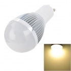 GU10 3W 240lm 3500K 3-LED Warm White Verstellbare Spotlight - Silber