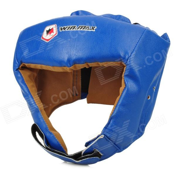 WIN MAX Boxing Protection Head Guard Helmet Protector - Blue
