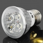 GP E27 4 x 1W 120lm 3500K 4-LED Warm White Light Aluminum Lamp Cup (AC 85~265V)