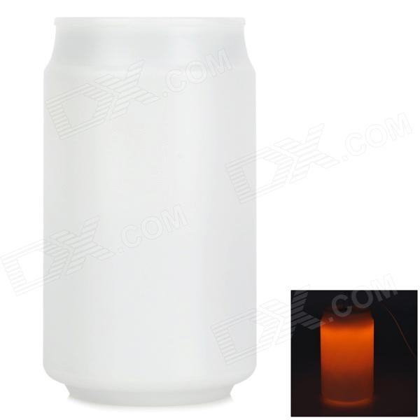Creative 1.2W 450lm Tin Style Energy Saving Bar Counter 8-LED Touch Lamp w/ Plastic Casing - White