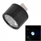 HONK 6-LED Warm White Light USB Night Lamp - Black