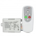 IFREE FC-368M 3-Channel Digital-Control Switch - White + Grey