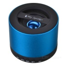 Mini USB Rechargeable Bluetooth V2.1 Music Speaker w/ TF Card Slot / FM Radio - Blue + Black
