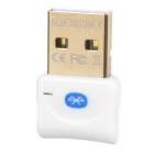 Mini Bluetooth V4.0+EDR USB Dongle w/ BlueSoleil IVT9.0/10.0 - White