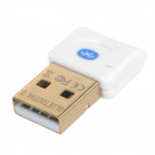 Mini Bluetooth V4.0 + EDR USB Dongle с BlueSoleil IVT9.0 / 10.0 - Белый