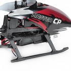 Walkera Master CP 6-CH Radio Control R/C Helicopter with DEVO 7E Remote Controller - Red + Black