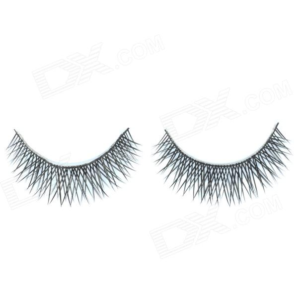 ZX-076 Black Valse Wimpers voor Beauty Make-up (paar)