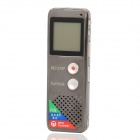 "T-50 1.6"" LCD Screen Rechargeable Digital Voice Recorder with MP3 Player - Champagne (4GB)"