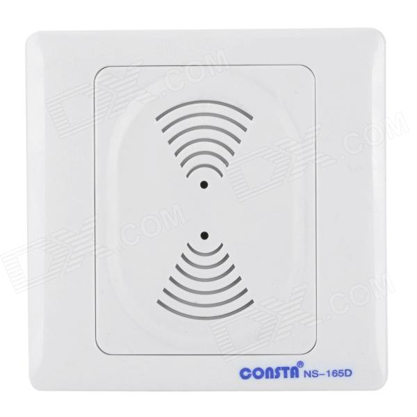 Consta NS-165D AC Power Wired Chime Door Bell - White (220V 50Hz)
